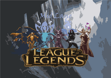 League of Legends Midlaners by Skyrider2016