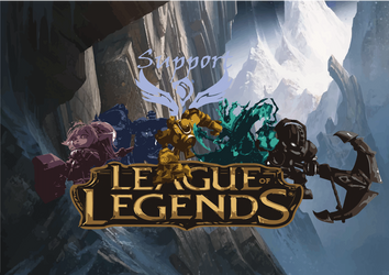League of Legends Suportes by Skyrider2016