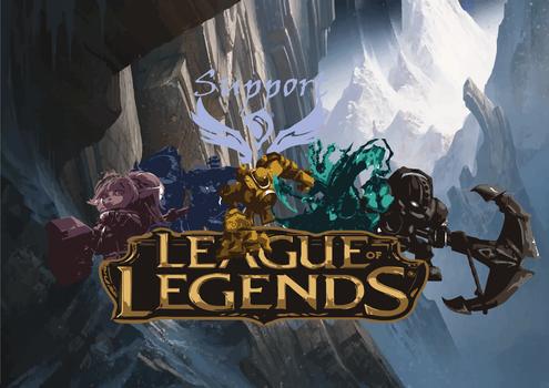 League of Legends Suportes