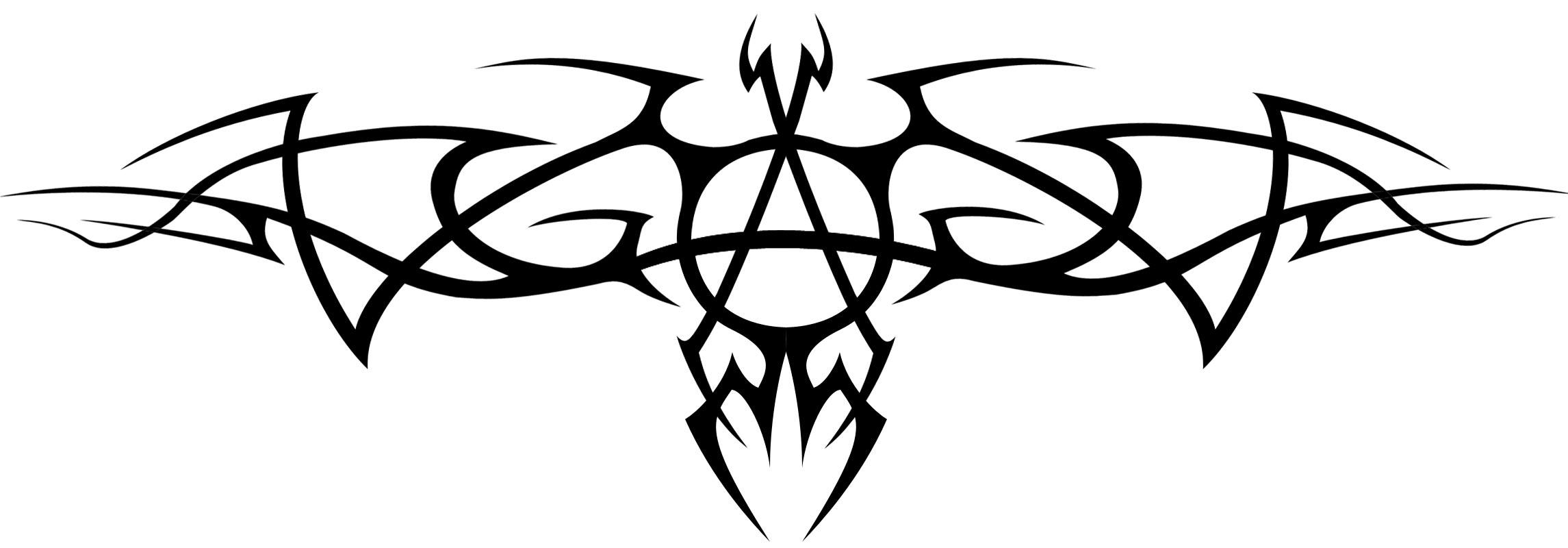 Anarchy symbol by punkasf531 on deviantart anarchy tribal by insomnia maniac biocorpaavc Choice Image