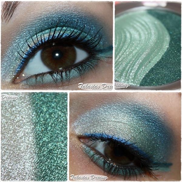 Essence 3D Eyeshadow 01 Irresistible Green by Talasia85