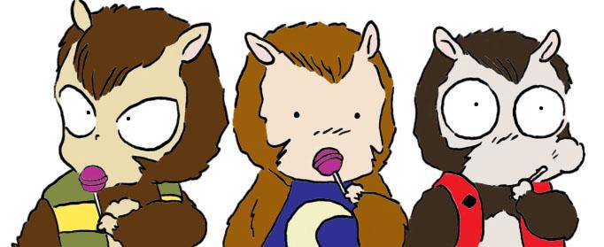 Cute Monkeys by celestopoli92