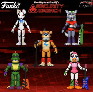 New fnaf action figures 0w0
