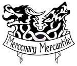 Mercenary Mercantile Logo by fluffyz