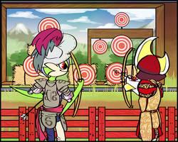 Archery Amore by fluffyz