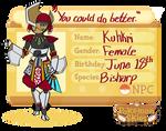 Kuhkri ID NPC by fluffyz