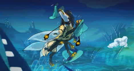 Fly Fishin by fluffyz