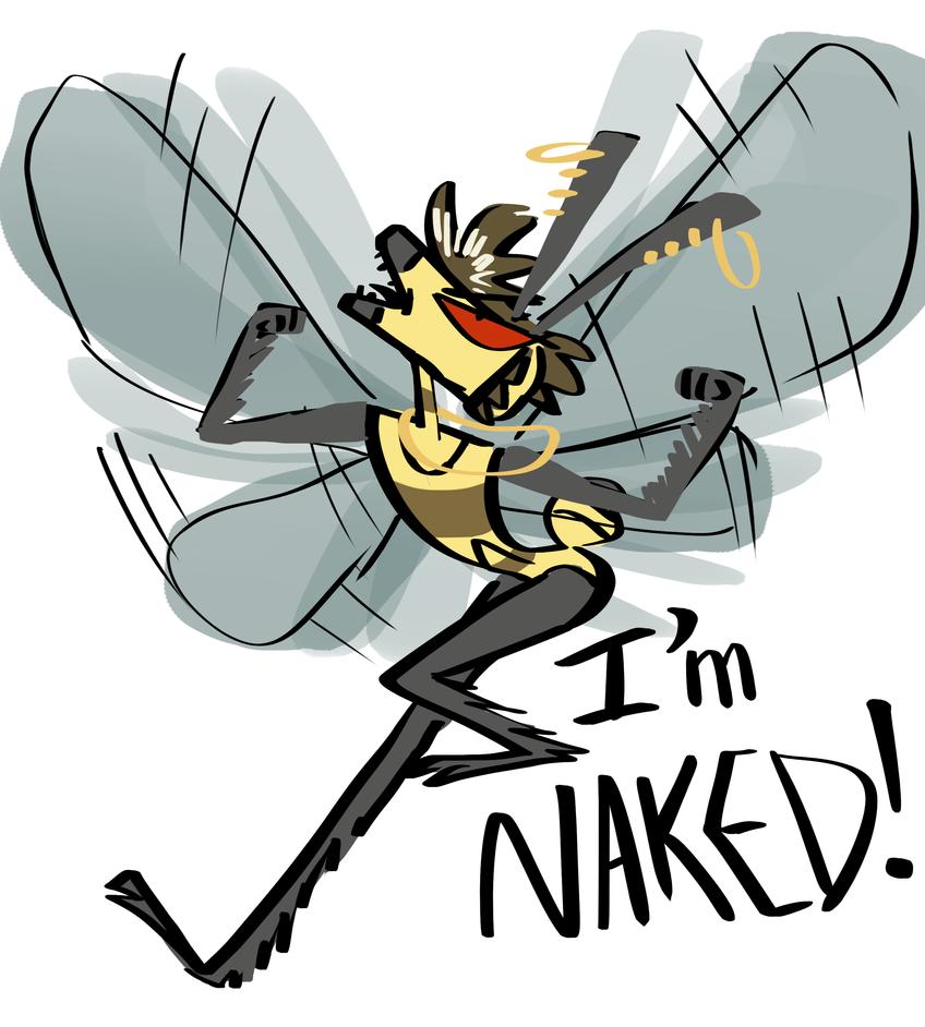 I'm naked!!! by fluffyz