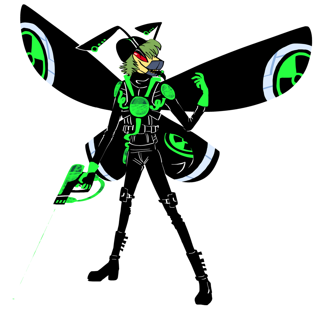 laser Mode Bee by fluffyz