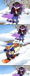 Very Professional Snowboarding by fluffyz