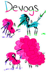Devogs Species Reference