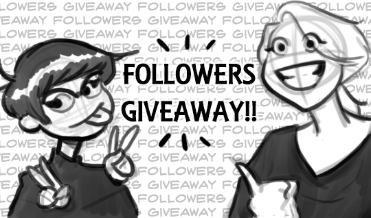 Followers Giveaway! by SharpAce
