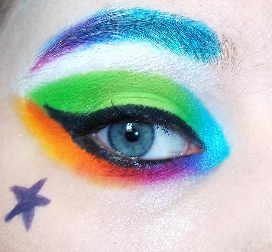 Rainbow Fish Makeup Rainbow Fish Eyeshadow by
