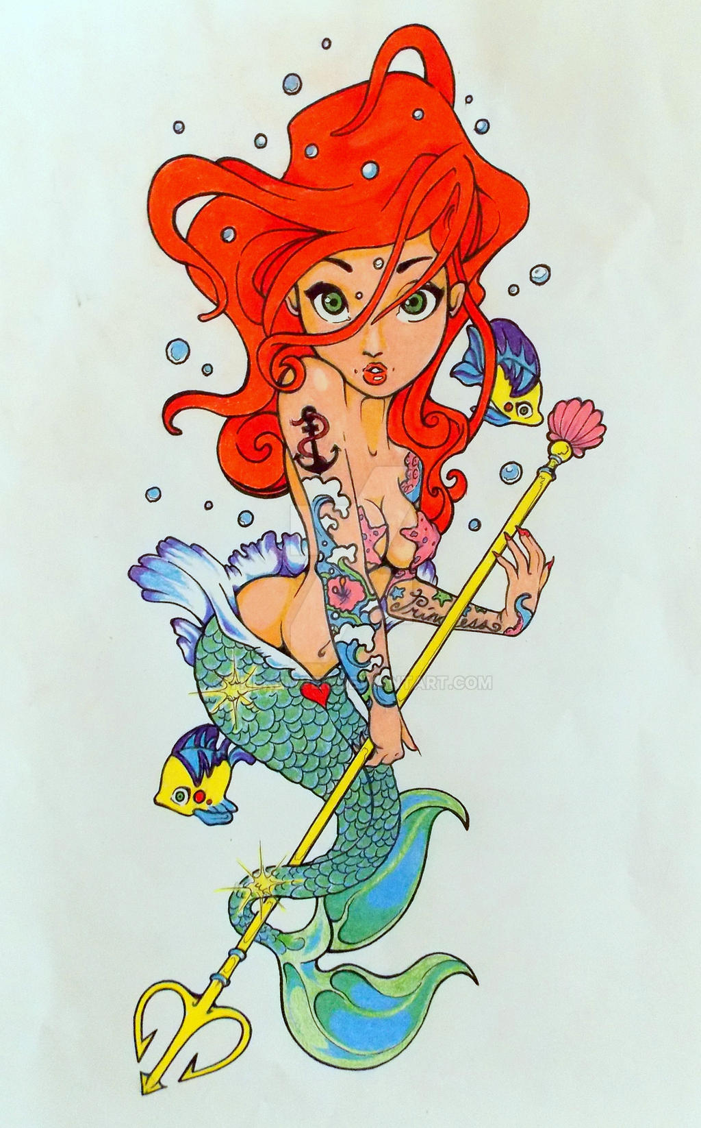 Ariel/An expansion on a Tim Shumate original by TheKemper