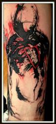 Derek Hess Tattoo by TheKemper
