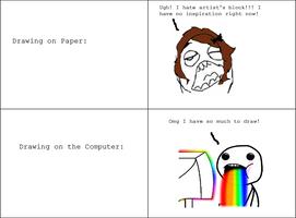 Inspiration Meme Comic by Peppermintpony899
