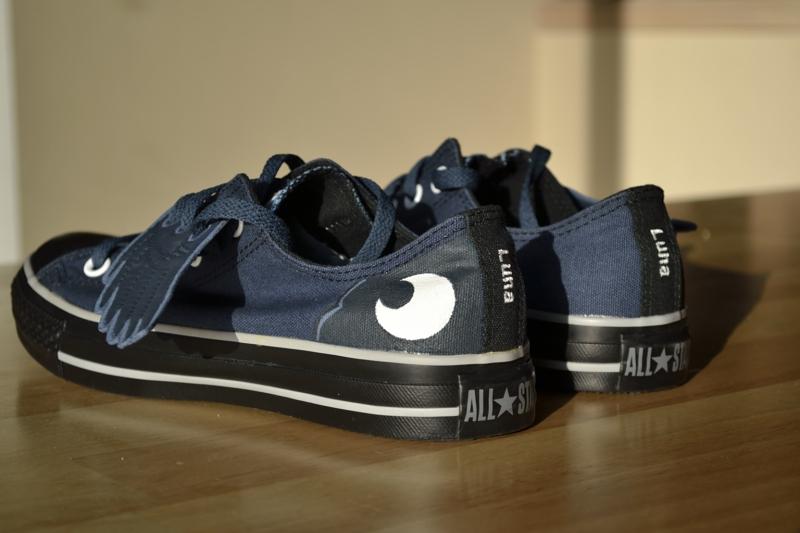 MLP: FIM: Custom Luna Shoes by Niniane6