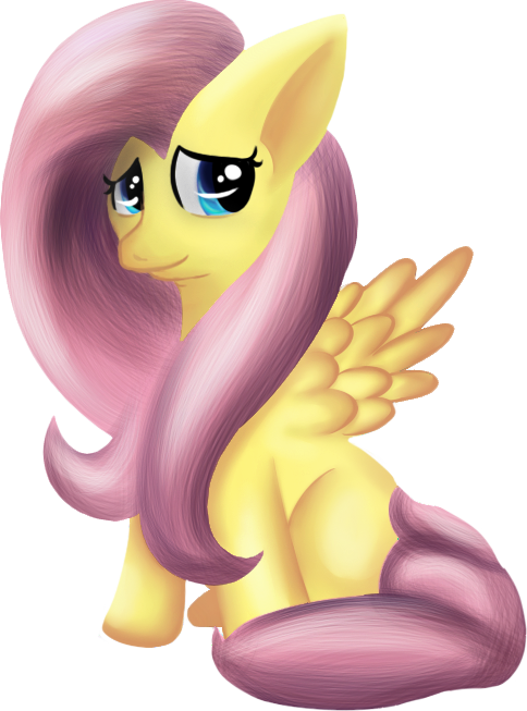 NW: The Shy Fluttershy by Mephilez