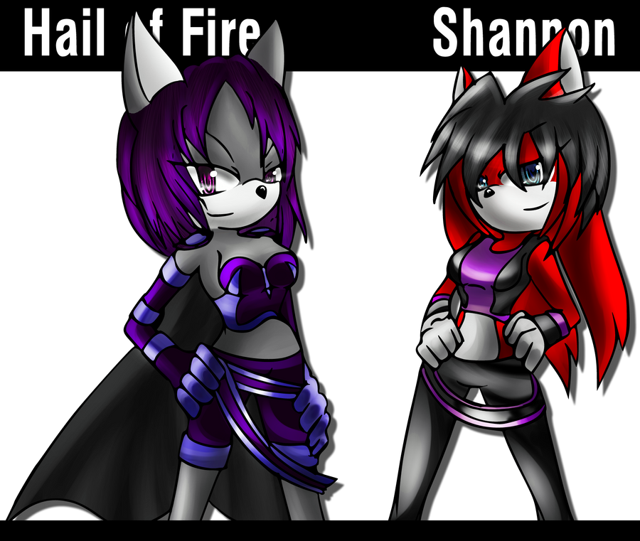 CM: Hail of Fire and Shannon by Mephilez