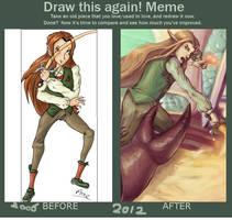 Draw this again meme by Anneuh