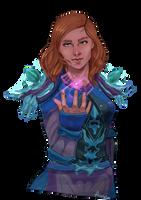 Warcraft mage by Anneuh