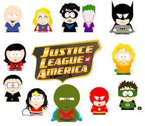 La liga de la Justicia by El-verdadero-Jokin