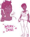 Intern Dana (Sketches)