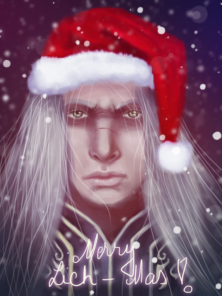 Lich King Christmas by Engelthal-B