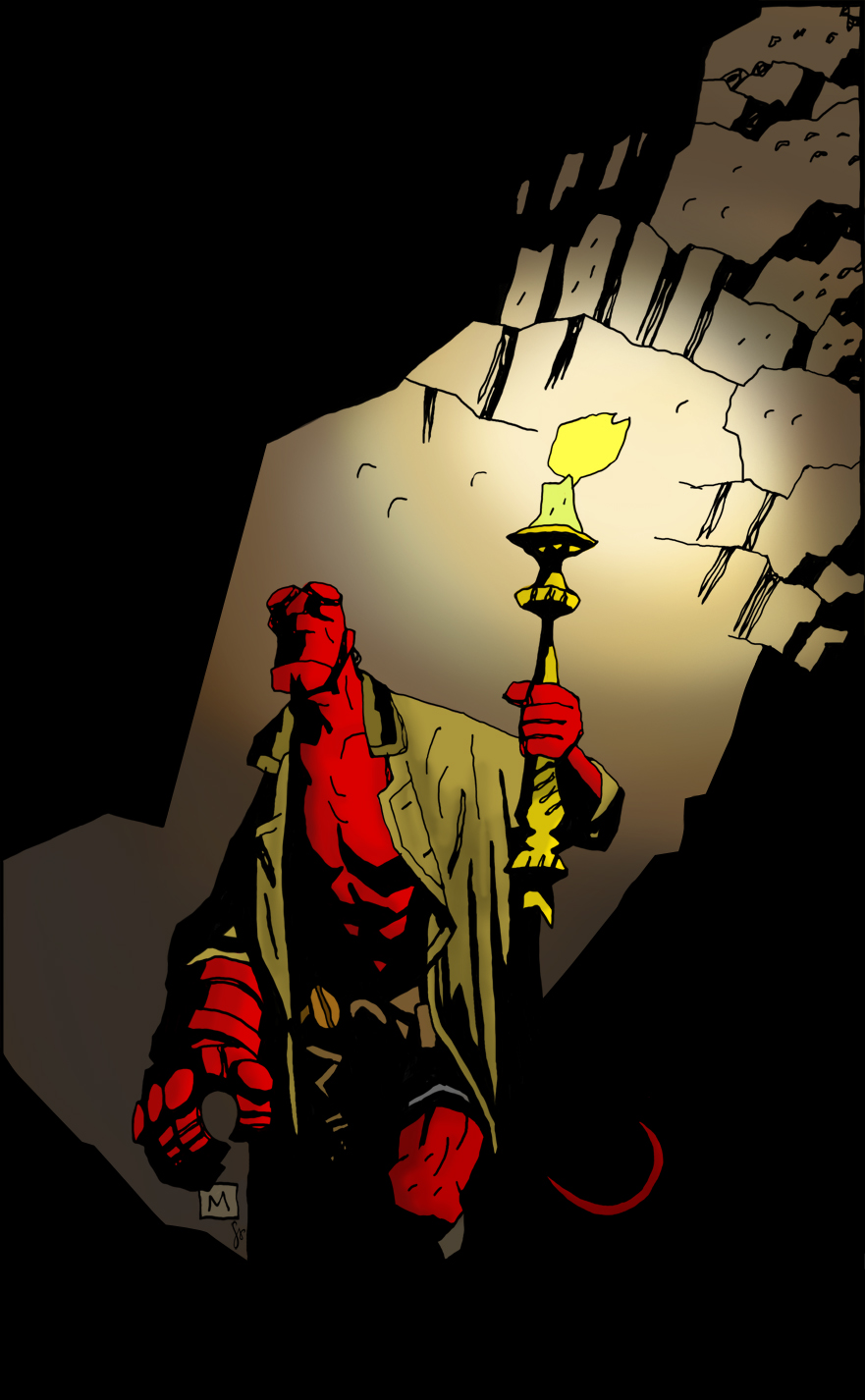 Mike Mignola Hellboy Wallpaper 37498 Usbdata