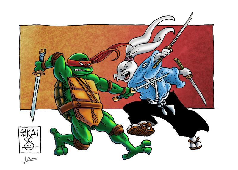 Leo VS Usagi by Pauner