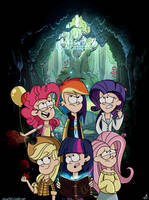 Welcome to Gravity Falls. by CherryVioletS