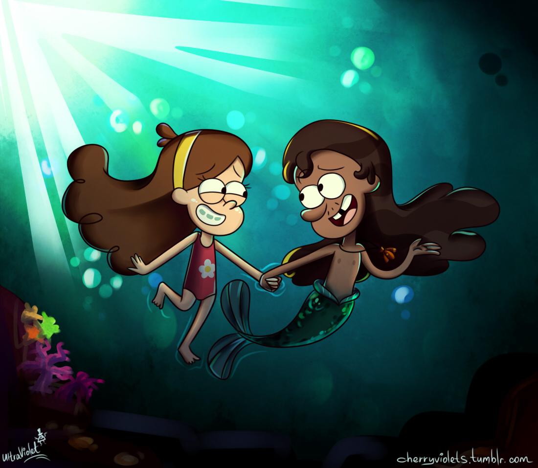 Underwater. by CherryVioletS