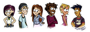 Commission - 6Teen 'Gravity Falls style'