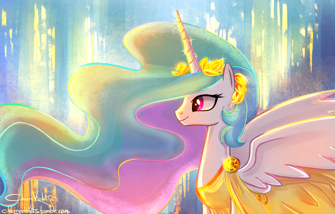 Lady, Princess, Goddess. by CherryVioletS