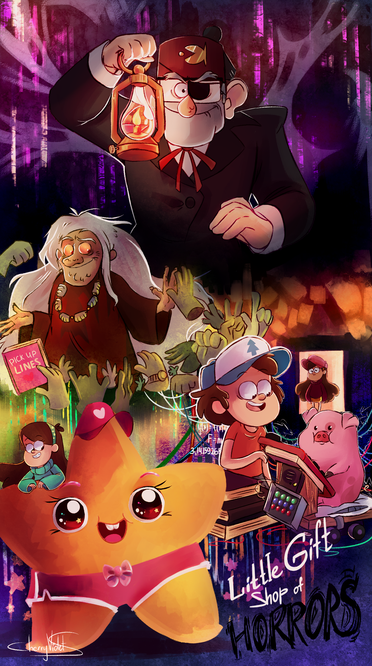 Little Gift Shop of Horrors by CherryVioletS on DeviantArt