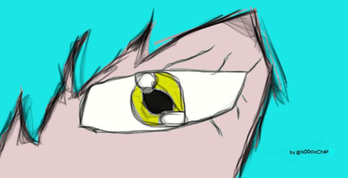 Rei Eye by N00dleChan