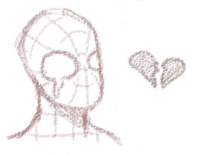 Spiderman crying by N00dleChan