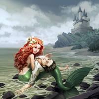 The Little Mermaid by nikogeyer