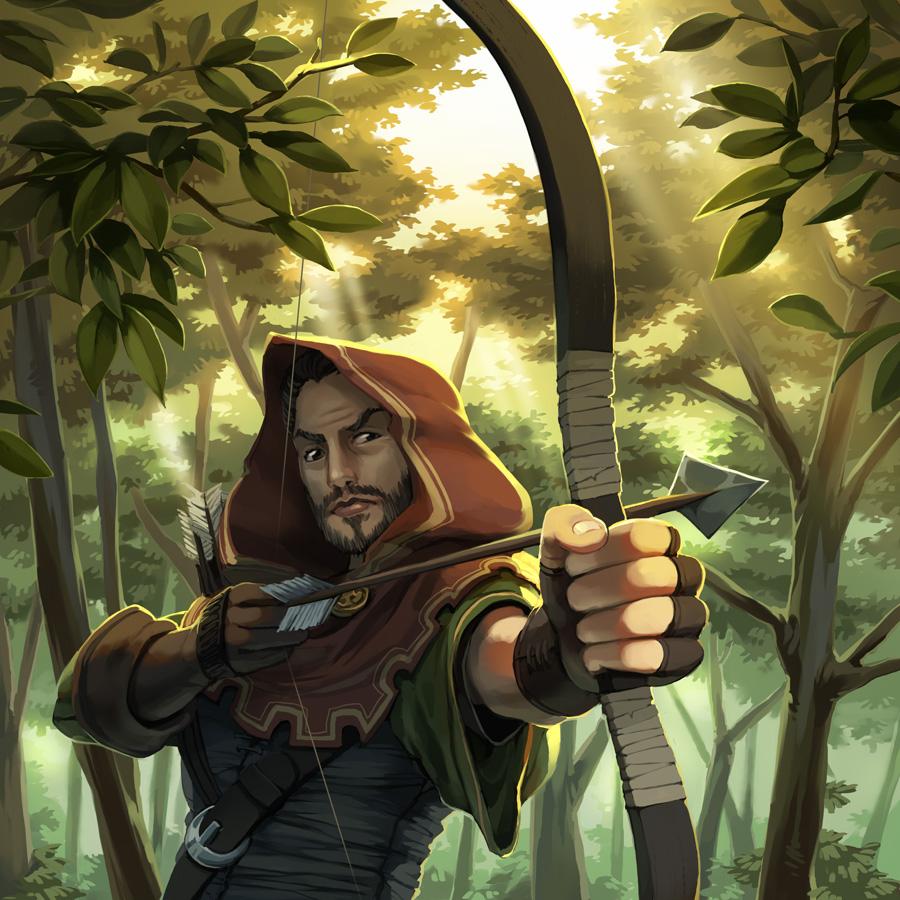 Robin Hood by nikogeyer