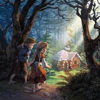 Hansel and Gretel by nikogeyer