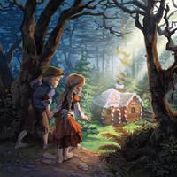 Hansel and Gretel by nikogeyer