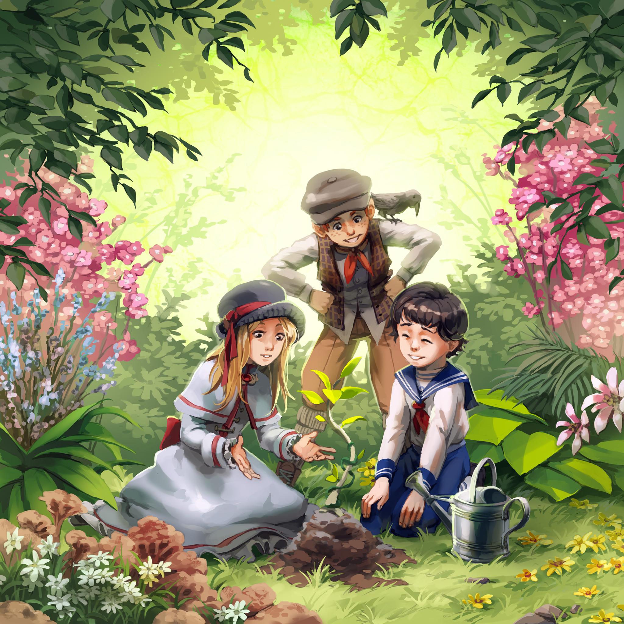 The Secret Garden by nikogeyer