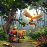 The Golden Bird by nikogeyer