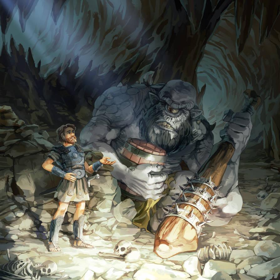 The Wanderings of Odysseus by nikogeyer
