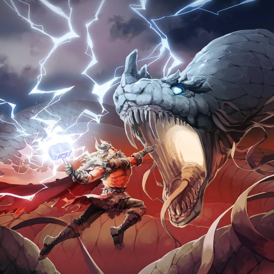 Norse Mythology by nikogeyer