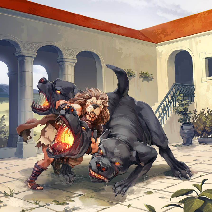 The Labors of Hercules by nikogeyer