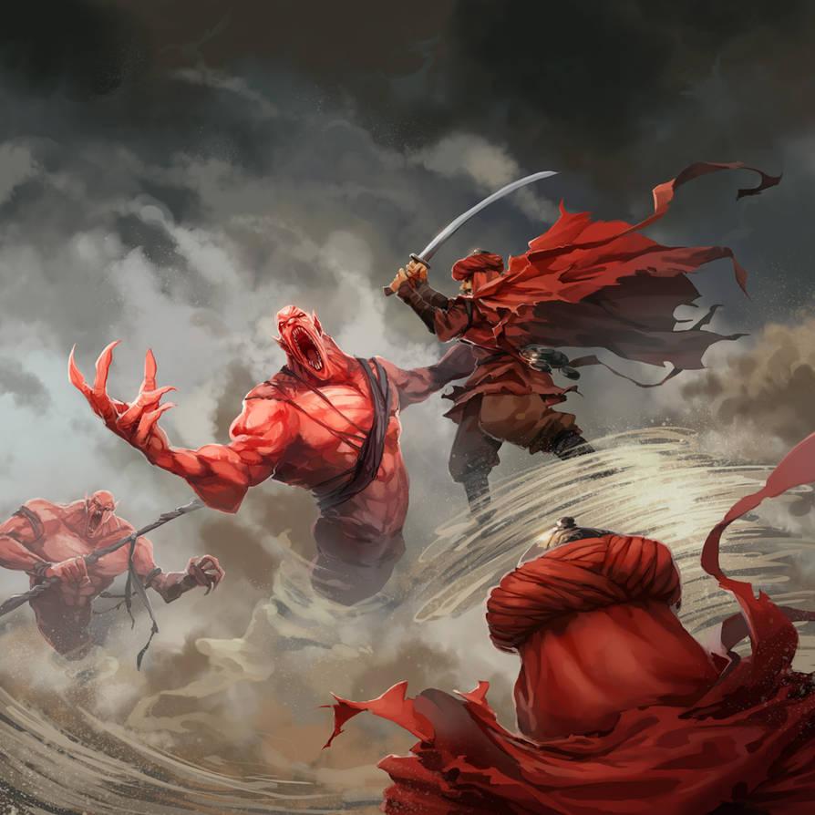 The Stormkings (Part 2) by nikogeyer