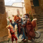 The Adventures of Pinocchio by nikogeyer