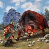 Gilgamesh by nikogeyer