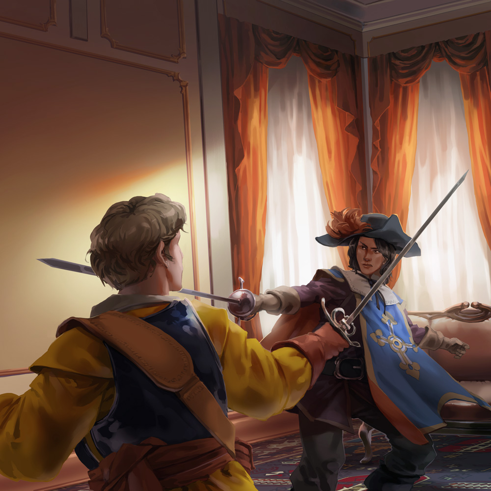The Four Musketeers by nikogeyer